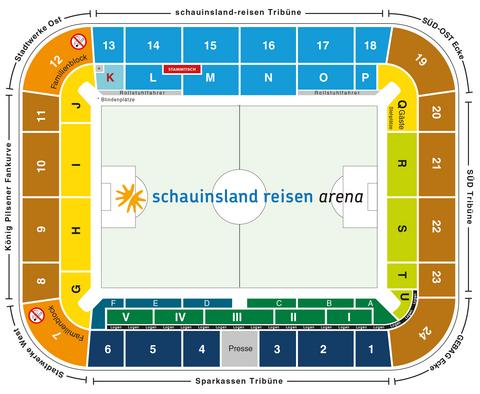 schauinsland-reisen-arena Blockplan