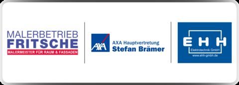 Malerbetrieb Patrick Fritsche GmbH, AXA Hauptvertretung Stefan Brämer & EHH Elektrotechnik GmbH