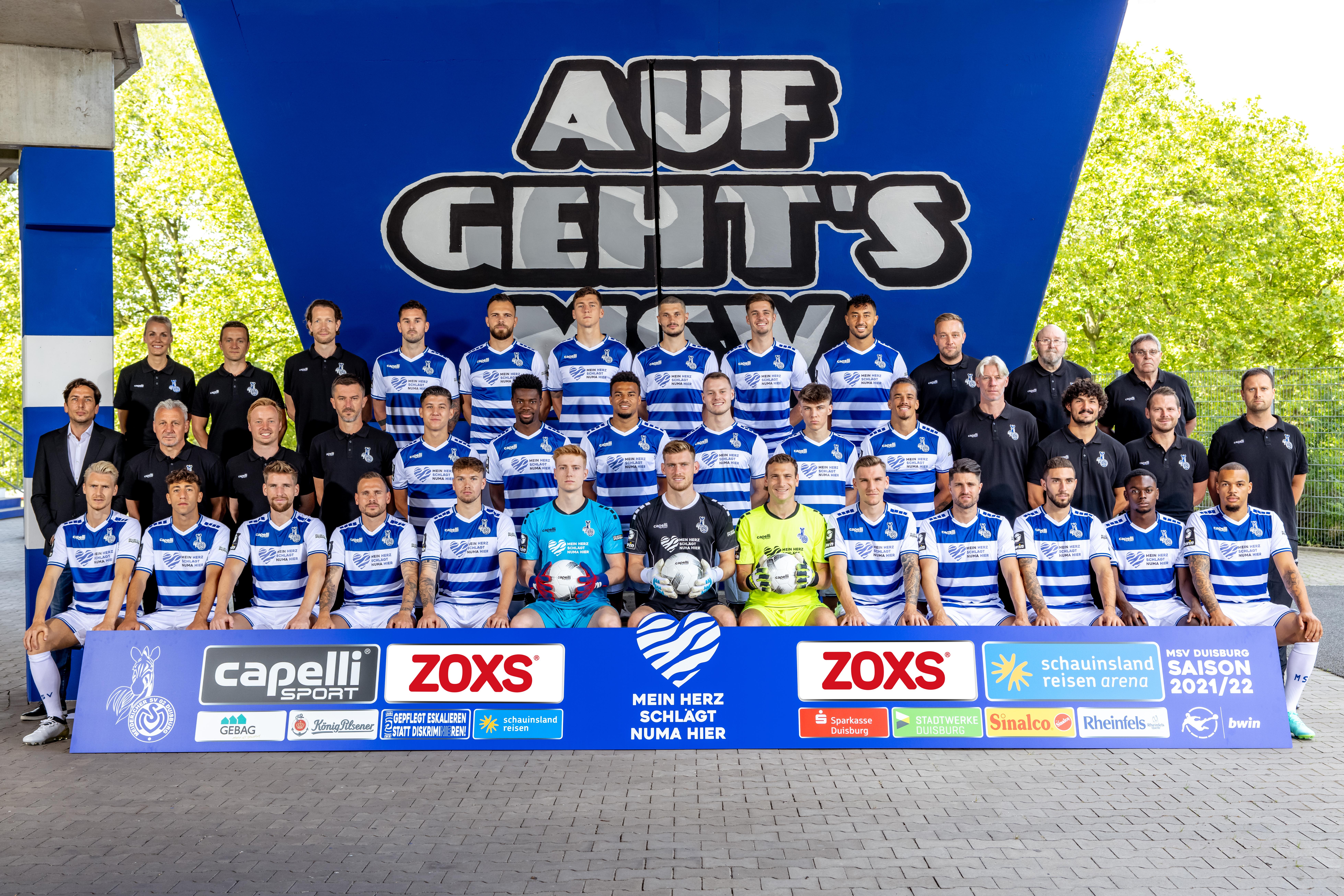 Unsere Zebras der Spielzeit 2021/22